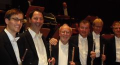 8th Mahler's Symphony with flutists of NDR Symphony Orchestra under Christoph von Eschenbach