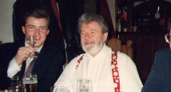 meeting with James Galway after maestro´s performance at the Prague Spring Festival
