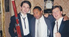 after the performance of maestro Wynton Marsalis and Czech Philharmonic Orchestra in Prague