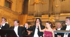 with the Slovak Philharmonic in Bratislava -Gala Concert of Maestro Peter Dvorský 2004